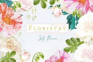 Digital Floristry - Soft Blossom