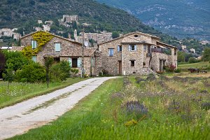 Stone farmhouse in Provence