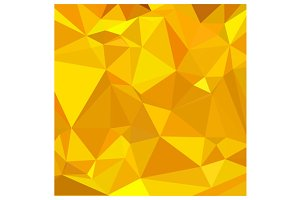 Peridot Yellow Abstract Low Polygon