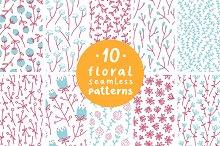 Floral Patterns Set 2
