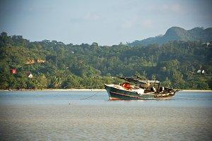 Seychelles coastline