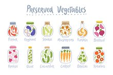 Amazing veggie set