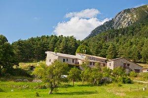 Stone farmhouse in Provence