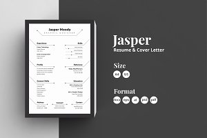 Abstract Resume/CV - Jasper