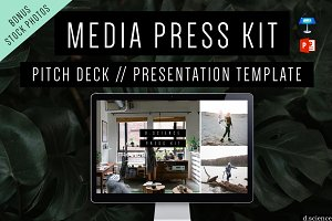 Creative Pitch Deck, Press Media Kit