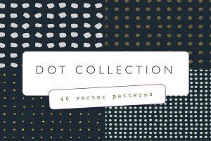 Hand Drawn Dot Pattern Collection
