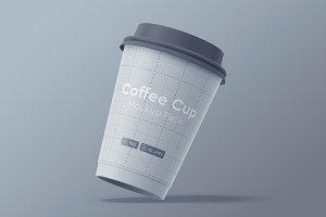 Paper Coffee Cup Mockup Pack