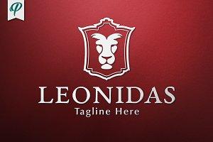 Leonidas Classic Lion Logo Template