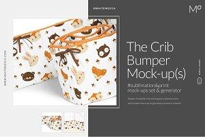Crib Bumper Mock-ups Set Generator