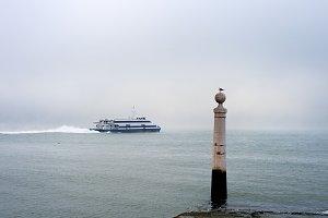 Ferry boat. Lisbon, Portugal