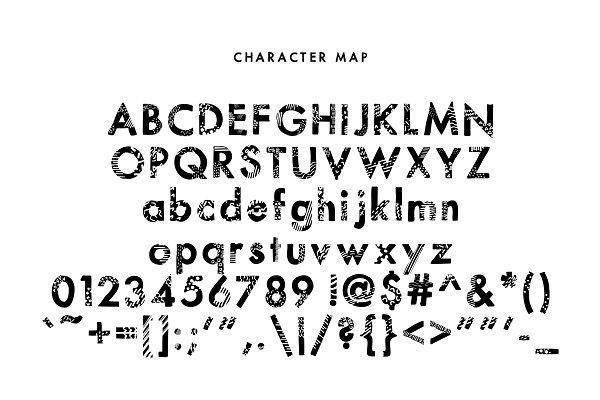 Best Prints — A Printed Sans Serif Vector