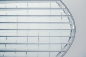 Modern huge semitransparent roof