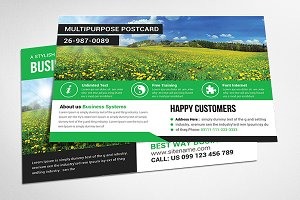Multi Use Business Postcard