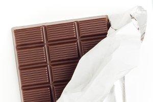 Discarded chocolate bar