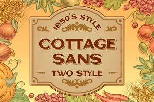Cottage Sans - 1950's Style (UPDATE)