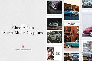 Classic Cars Instagram Stories