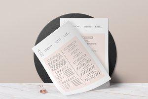 Resume & Cover Letter • Amelié