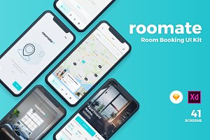 Roomate iOS UI Kit