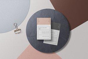 2 Modern Business Cards • Etoilé