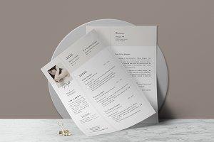 Elegant Resume Template • Ana