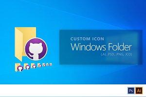 Customizable Windows Folder Icon