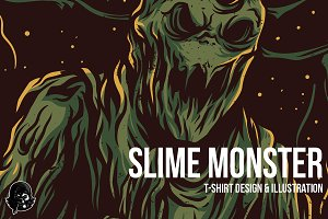 Slime Monster Illustration