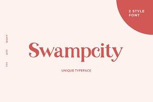 Swampcity Typeface Font