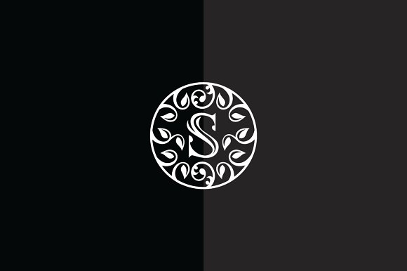 Seed of Life| Letter S Logo Template