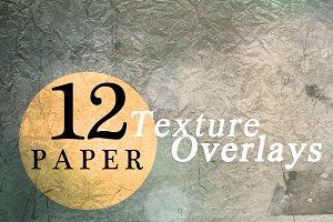 Paper Texture Overlays