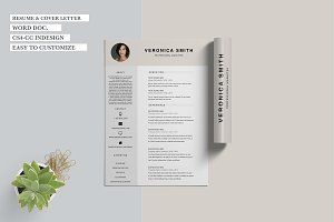 Veronica Smith - Resume/CV 2 pages