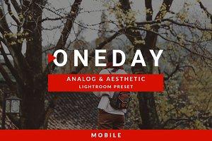 Mobile Oneday: Analog & Aesthetic Lr