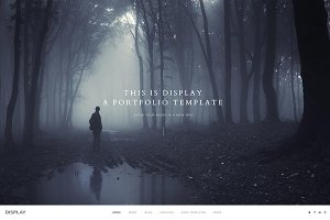 Display | Photography Template