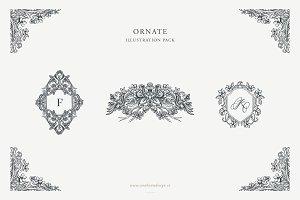 Ornate Designs: Illustration Pack