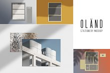 OLÄND — Minimal Mock-Up Kit by  in Product Mockups