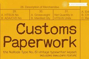 Customs Paperwork Pro AOE