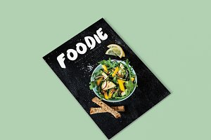 Foodie InDesign Magazine Template