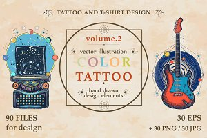 Color tattoo (vol.2)
