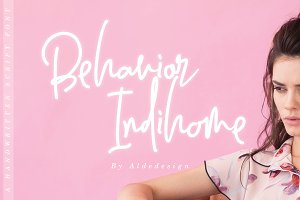 Behavior Indihome | Signature Font