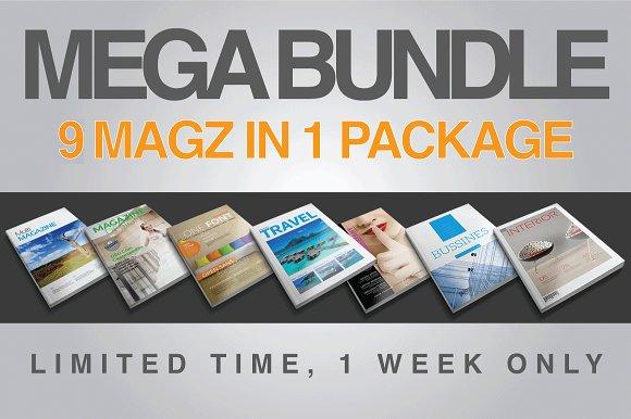 MEGA BUNDLE COLLECTION V.1 (updated) - Magazines
