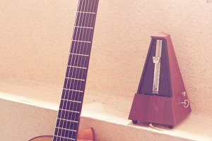 Classical Guitar and Metronome