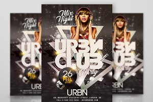 Urban Club Night Party