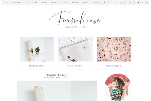 Wordpress Theme SALE Farmhouse