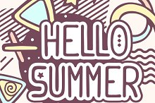 Hello summer quote on abstraction