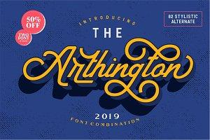 The Arthington + Bonus 2 font.