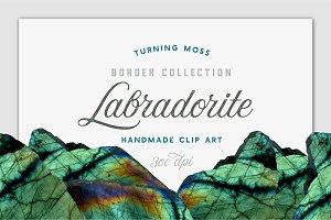 Gemstone Borders - Labradorite