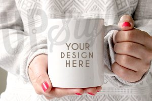 Coffee Mug Stock Photo F122