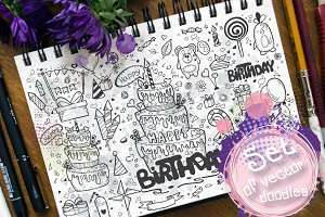 Doodles - Birthday. vol.2