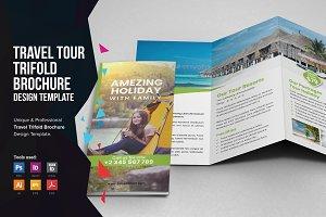 Travel Resort Trifold Brochure v1