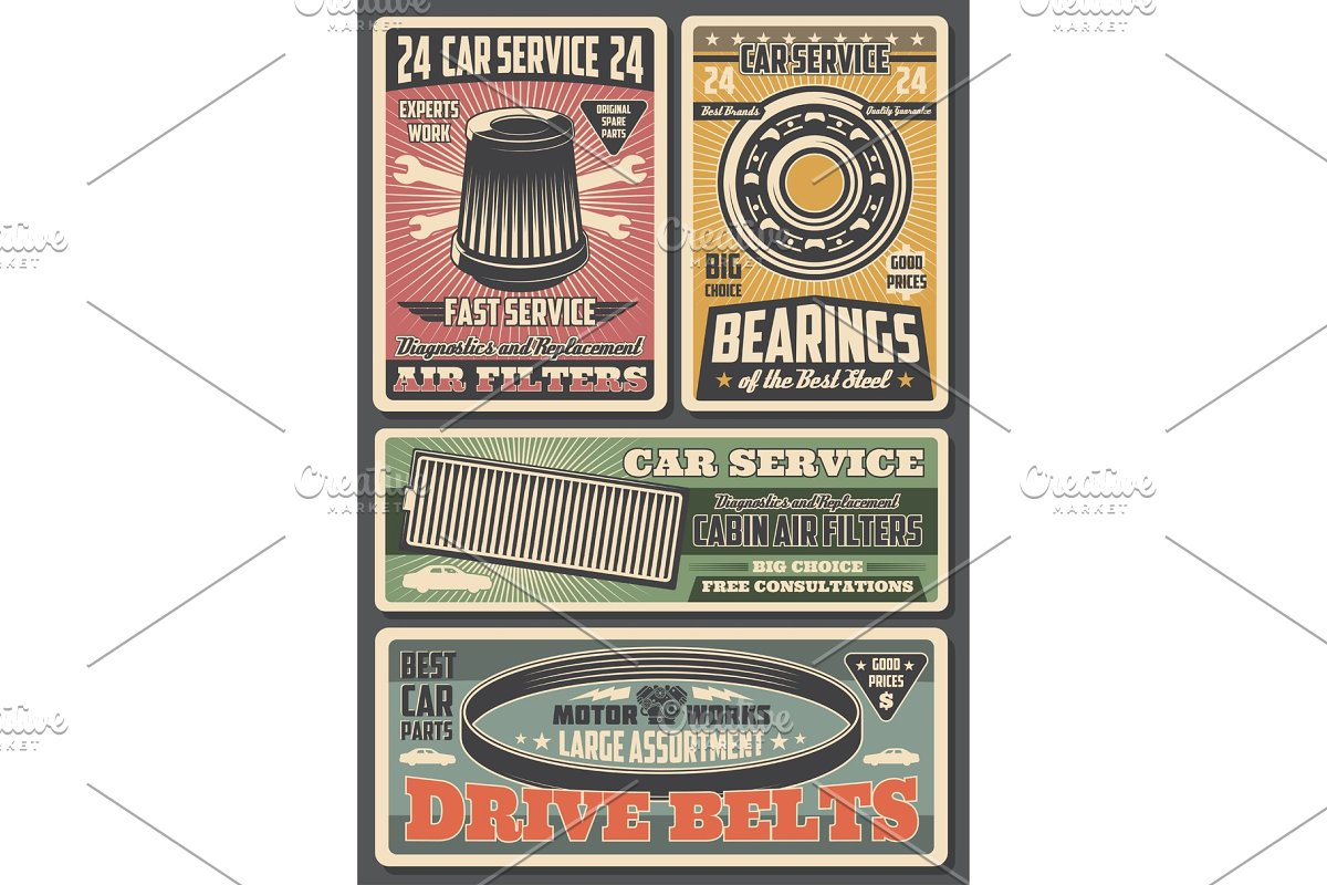 Car repair service and spare parts