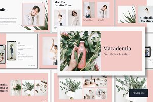 Macademia - Powerpoint Template